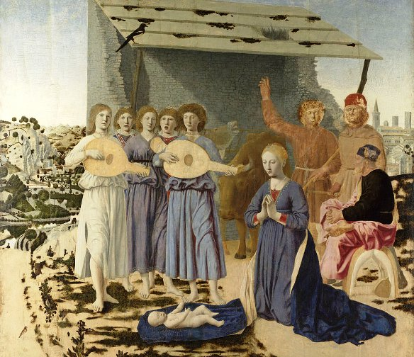 Paintings of Mary and the Infant Jesus, Piero della Francesca, The Nativity