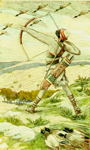'Ishmael the Archer', James Tissot, 1896