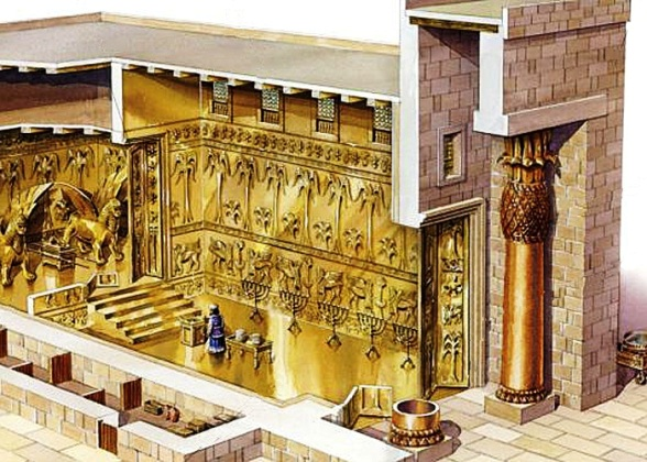 Solomon's Temple: a reconstruction of the interior