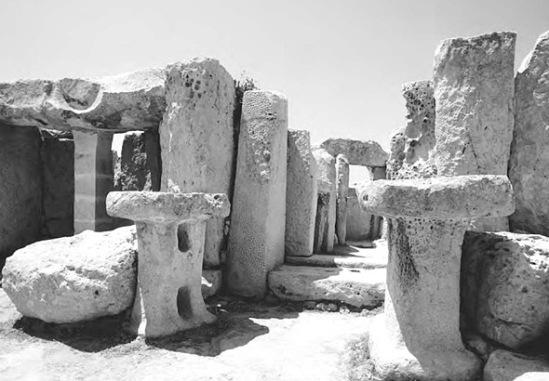 Monolithic stone altar in Malta