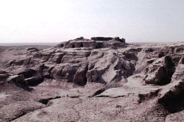 The Ziggurat of the god Anu at Uruk
