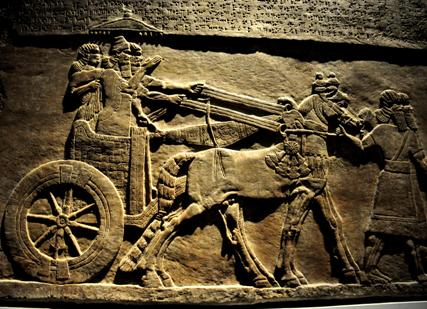 ancient battle chariot
