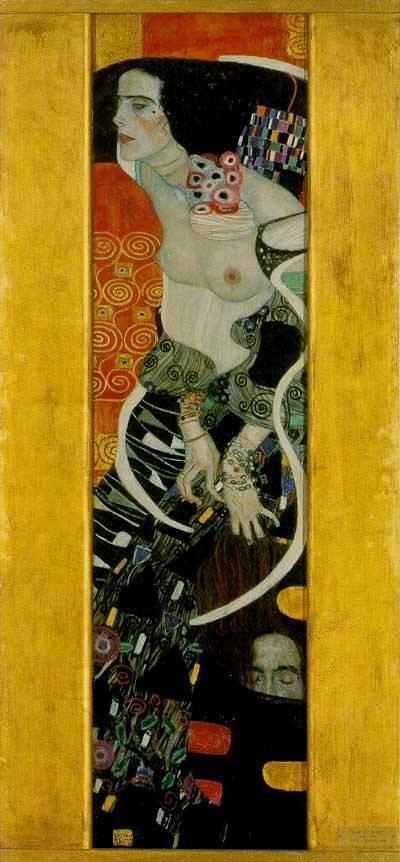BIBLE PAINTINGS. JUDITH, Gustav Klimt, Judith