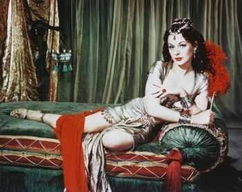 Bible study ideas: Hedy Lamarr as Delilah