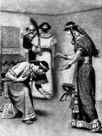 Adonijah begs for Bathsheba's help