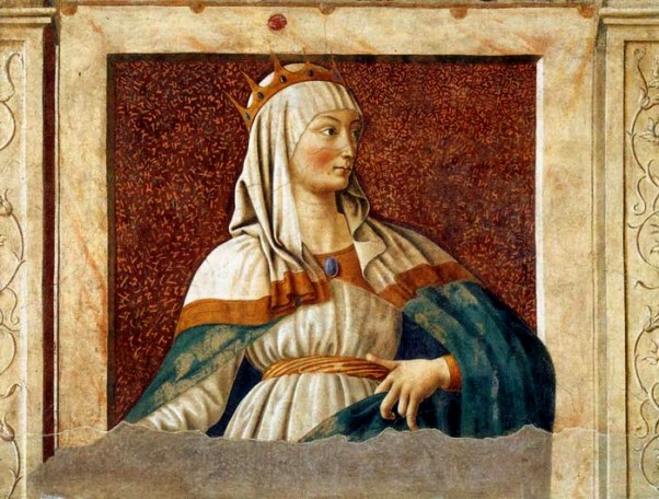 Esther Paintings: 'Queen Esther', Andrea del Castagno, 1450
