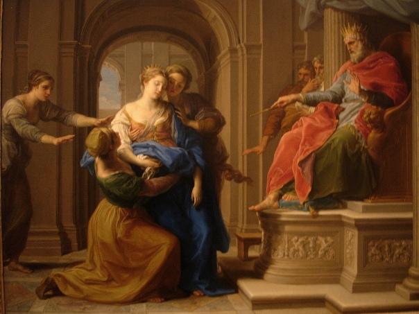Esther Fainting Painting: 'Esther Before Ahasuerus', Pompeo Batoni, 1738-40