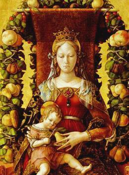HIDDEN MEANINGS IN PAINTINGS OF THE MADONNA JESUS