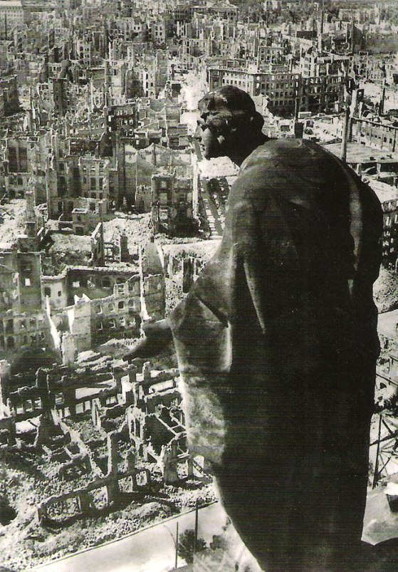 The famous 'Angel of Dresden', survivor of the World War II bombing of Dresden in February, 1945