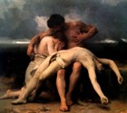 Bouguereau, The First Mourning (death of Abel), 1888