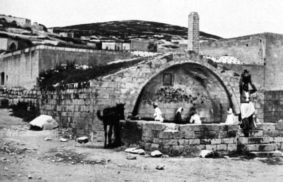 Site of the ancient well in Nazareth - probably used by Mary of Nazareth