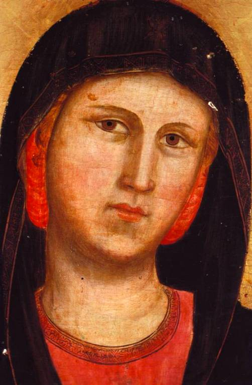 The Madonna, detail from a Giotto painting