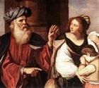 Hagar and Ishmael expelled by Abraham