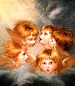 Heads of Angels, by Sir Joshua Reynolds