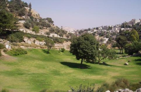 The Valley of Hinnom south of Jerusalem; this is where Josiah found the religious altars on which he believed boys and girls were sacrificed
