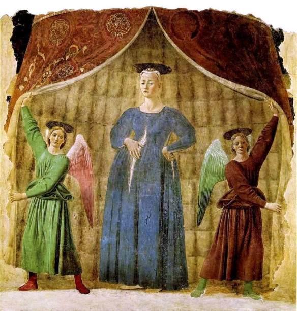 Madonna del parto (the Pregnant Madonna) Piero della Francesca