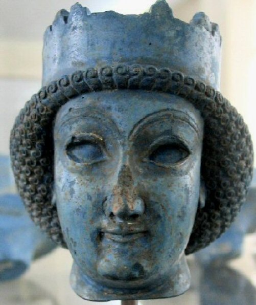Esther Paintings: Persian Lady, found at Persepolis, sculptor unknown, circa 515-338BC