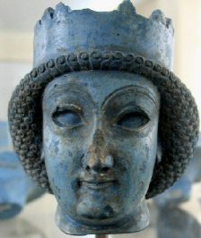 Statue of a Persian Lady, excavated at Persepolis