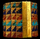 Bracelet belonging to Queen Ahhotep, 18th dynasty of Egypt