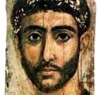 Face of a wealthy aristocrat, from the Fayum coffin portraits