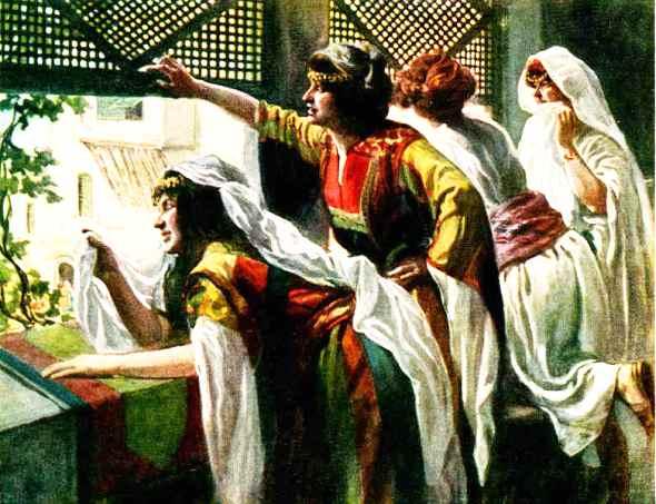 Women at the Window, James Tissot