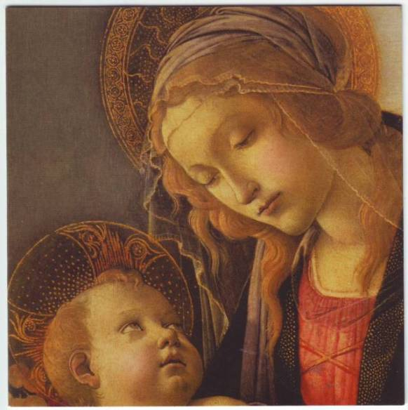 Madonna and child, Bottecelli