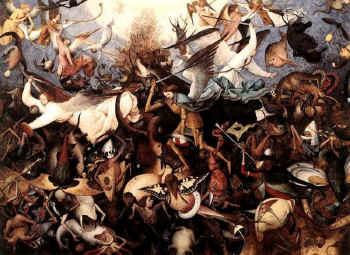 The Defeat of the Rebel Angels, Pieter Bruegel the Elder