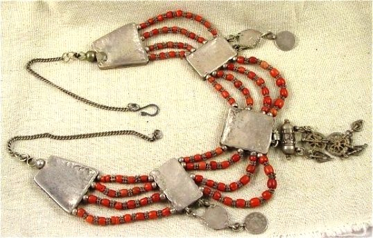 Ancient dowry necklace from the Middle East