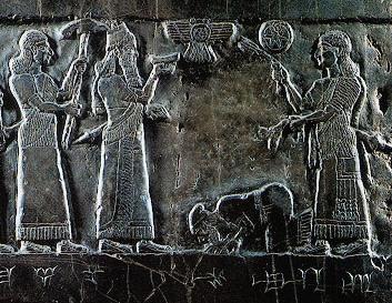 Bible Kings: Black obelisk of Shalmaneser