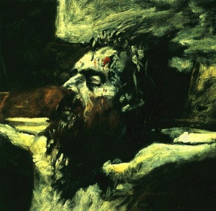 Head of Christ crucified, Nikolas Ge