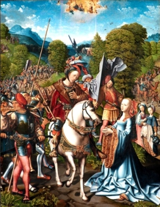 Abigail, David in the Bible: The meeting of Abigain and David, Statens