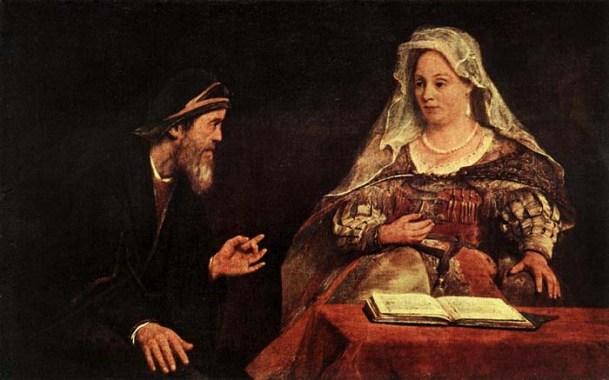 Esther Painting - 'Esther and Mordecai', Aert de Gelder, 1685
