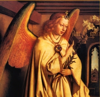 The angel Gabriel, messenger of God