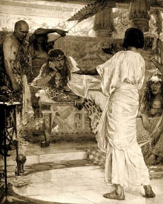 Joseph & Asenath: Pharaoh listens to Joseph's interpretation of his dream