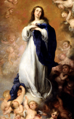 Mary, the Assumption of the Virgin, Murillo