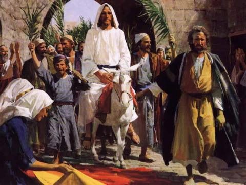 Jesus' entry into Jerusalem