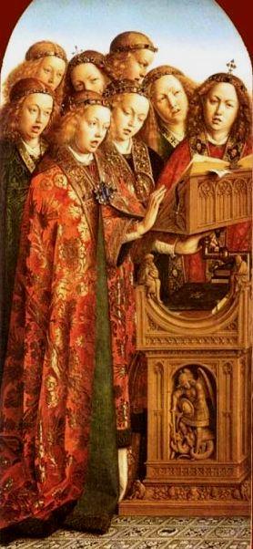 The Choirs of Angels, Van Eyck