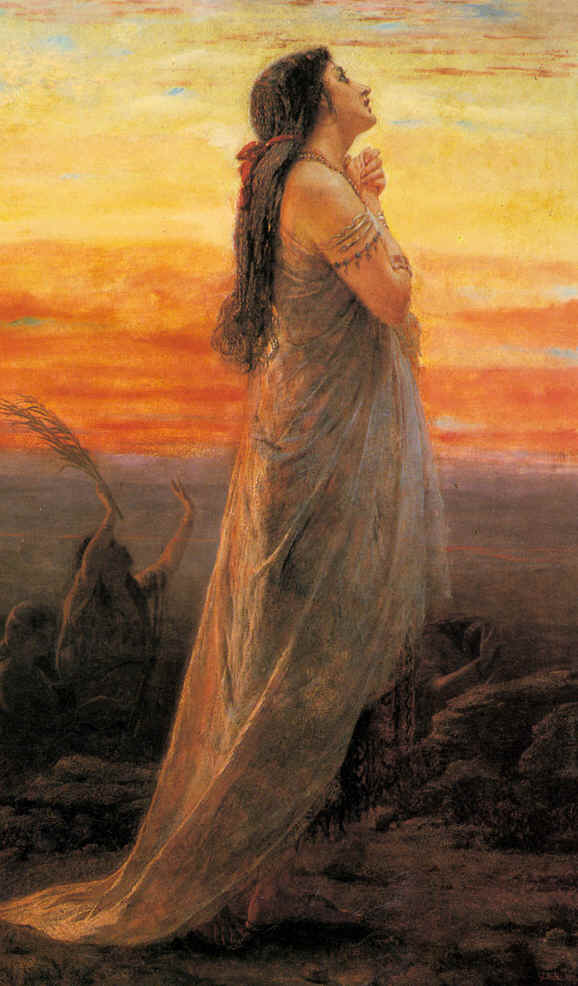 The lament of Jephtah's daughter, George Hicks