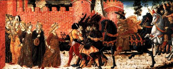 Meeting of Jephtah and his Daughter, Benvenuto de Giovanni