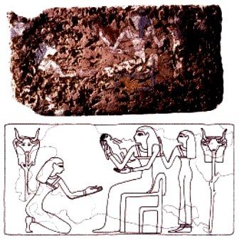 Bible Heroines, Shiprah & Puah. Ancient Egyptian birthing brick; women placed one of these under each foot as they squatted to give birth