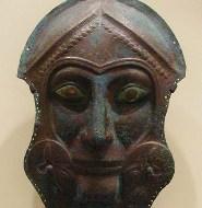 Face mask, Greek