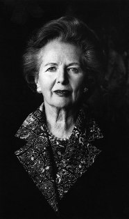 Photograph of another tough ruling woman: Margaret Thatcher, Prime Minister of Great Britain