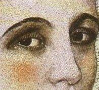 Bible Murders: Herod and John the Baptist. Eyes of a beautiful woman