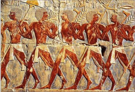 Egyptian light infantry
