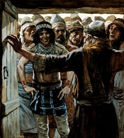 The old man confronts the Ephramites, James Tissot