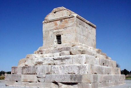 Tomb of Cyrus the Great in Iran