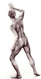 Drawing of Adam