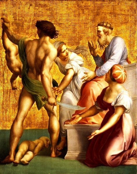 The Judgment of Solomon, by GiuseppeCades