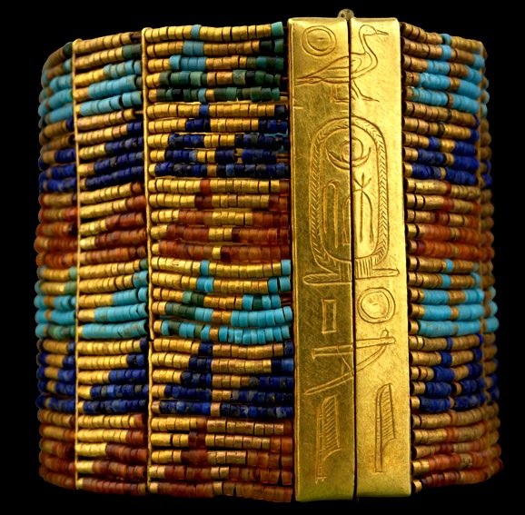 Bracelet belonging to Queen Ahhotep of the 18th dynasty, Egypt. Hagar may have been a slave, but she came from a sophisticated and wealthy country.