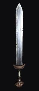 An ancient sword